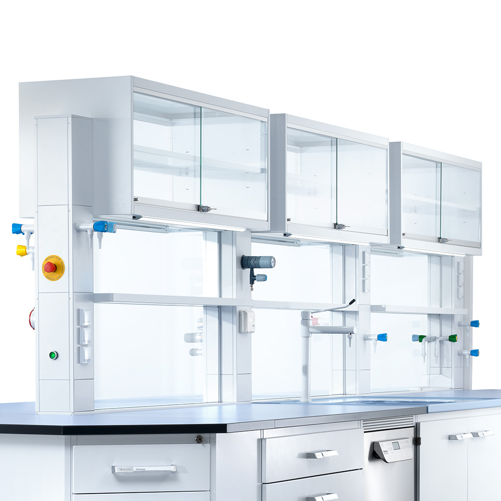 Laboratory cell cabinet